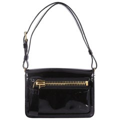 Tom Ford Buckley Messenger Bag Patent Mini