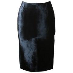 Tom Ford Calf-Hair Pencil Skirt