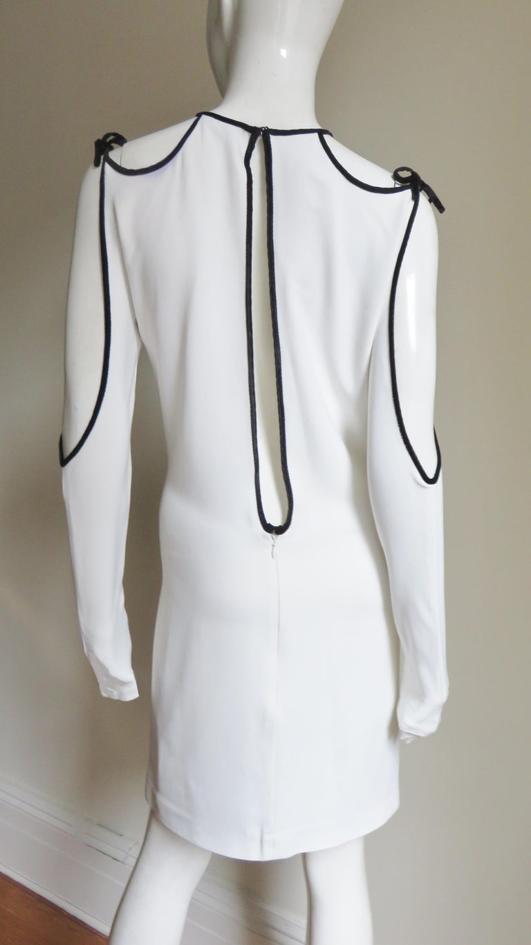 Tom Ford Cut Out Shoulders and Sleeves Dress For Sale 6
