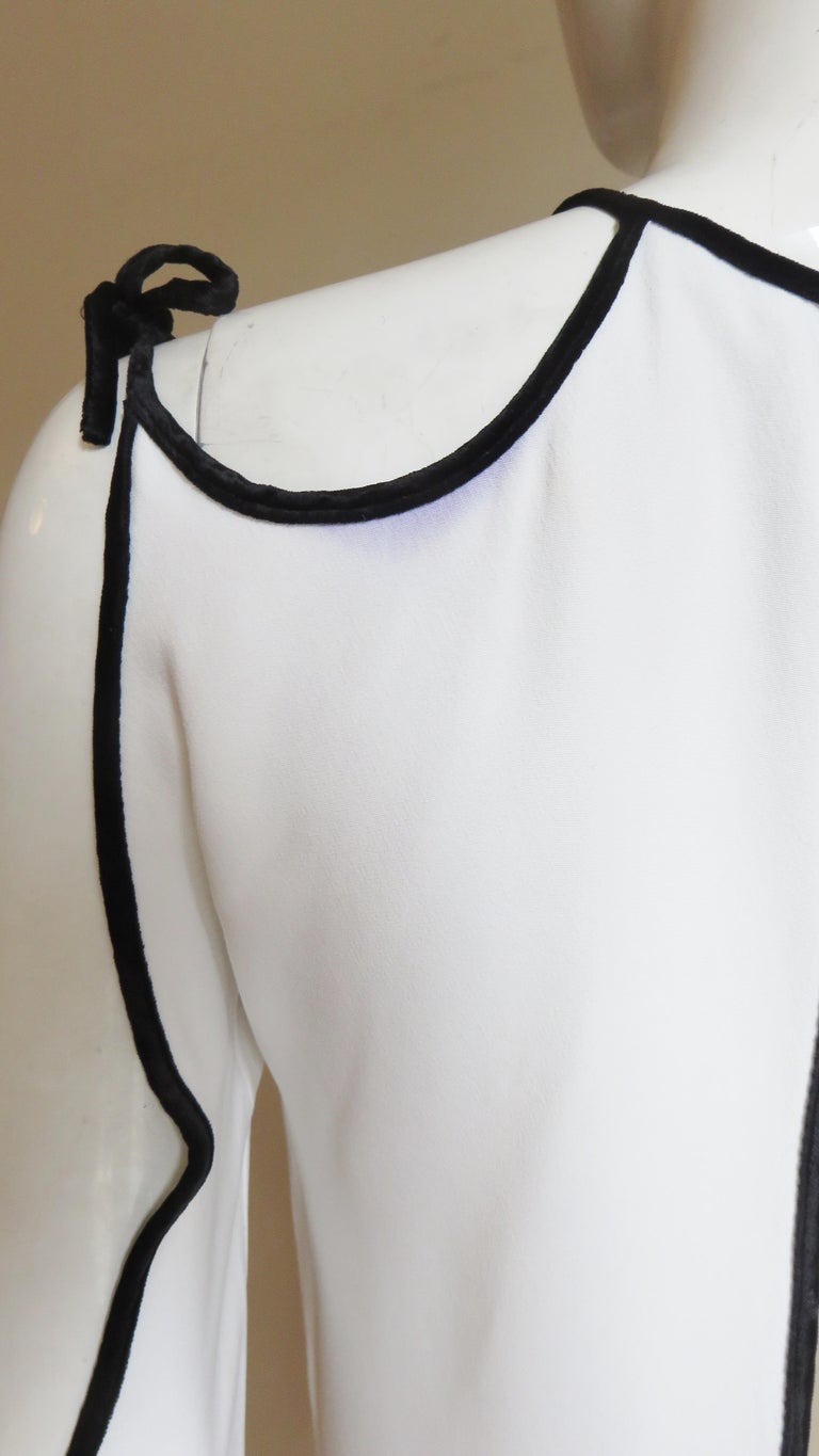 Tom Ford Cut Out Shoulders and Sleeves Dress For Sale 10