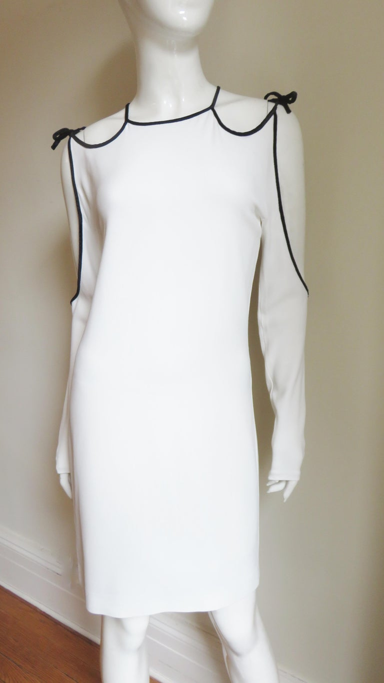 Tom Ford Cut Out Shoulders and Sleeves Dress In Good Condition For Sale In New York, NY