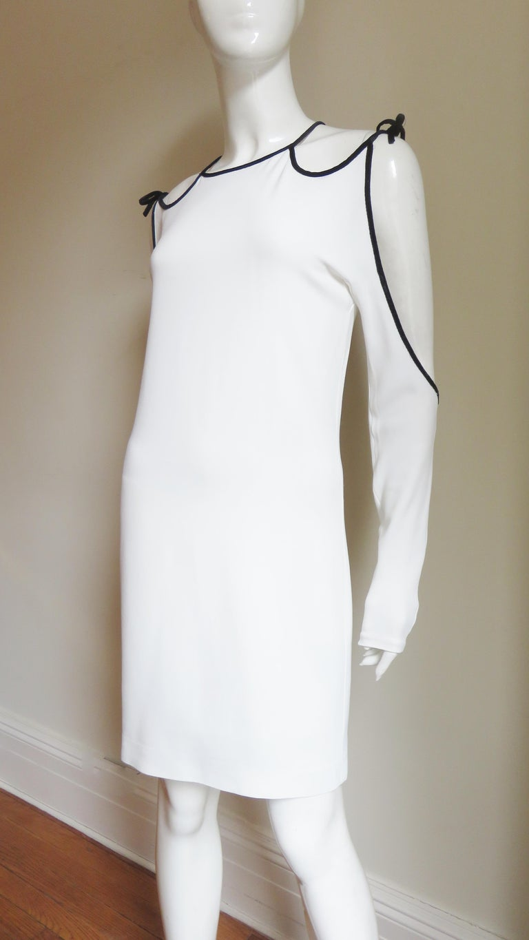 Women's Tom Ford Cut Out Shoulders and Sleeves Dress For Sale