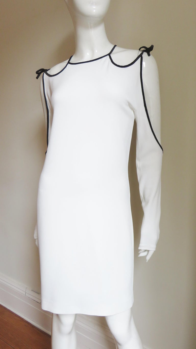Tom Ford Cut Out Shoulders and Sleeves Dress For Sale 1