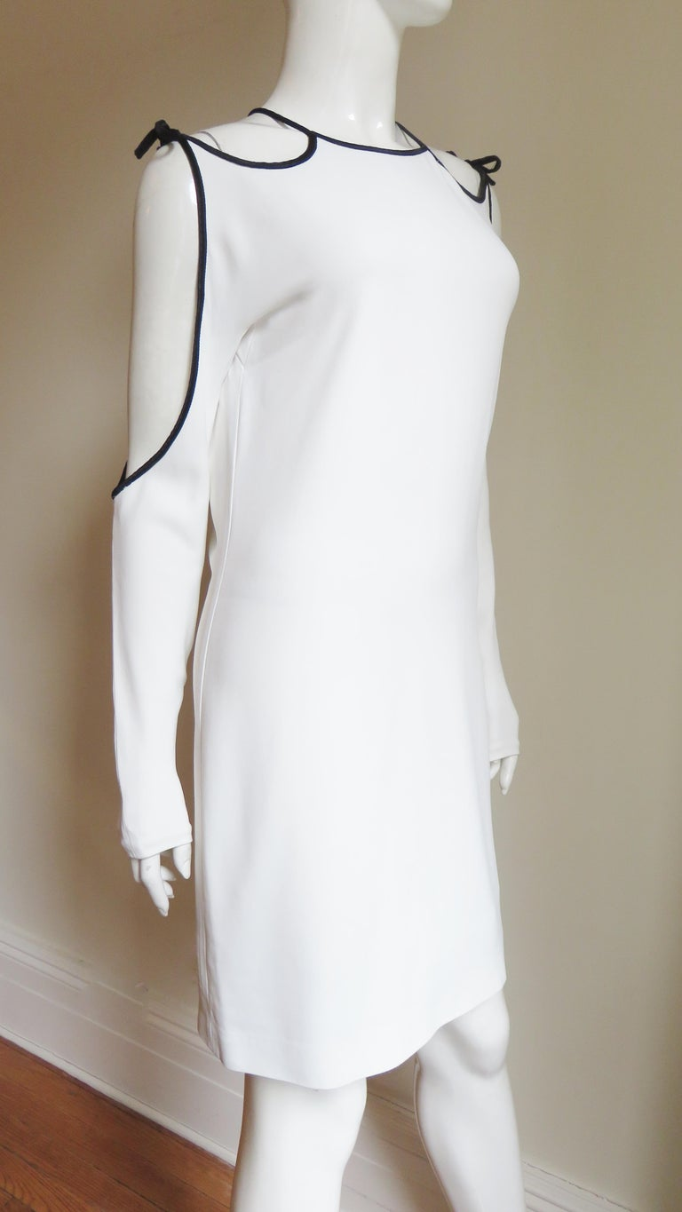 Tom Ford Cut Out Shoulders and Sleeves Dress For Sale 2