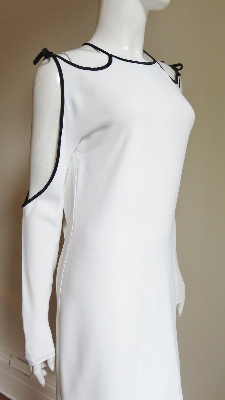 Tom Ford Cut Out Shoulders and Sleeves Dress For Sale 3