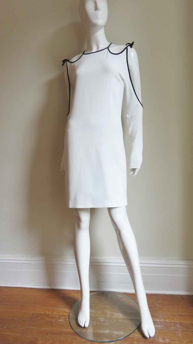 Tom Ford Cut Out Shoulders and Sleeves Dress For Sale 5
