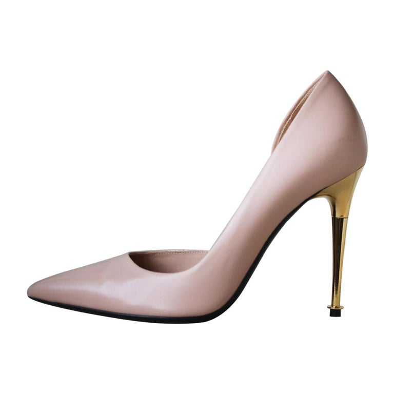Tom Ford D'Orsay Leather Pumps  For Sale