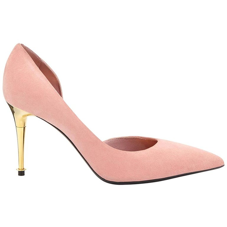 Tom Ford D'Orsay Suede Pumps For Sale