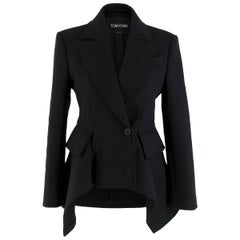 Tom Ford Double Breasted Cashmere Blend Jacket SIZE 38