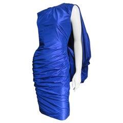 Tom Ford Drape Back Ruched Dress