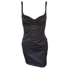 Tom Ford for Gucci 2003 Bustier Cutout Mini Dress