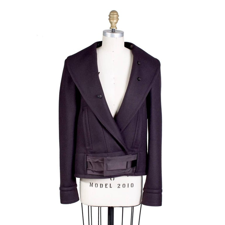 dc58632033 Tom Ford for Gucci Cropped Wool Jacket with Detachable Fur, Fall 2004