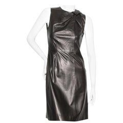 Tom Ford For Gucci Leather Dress