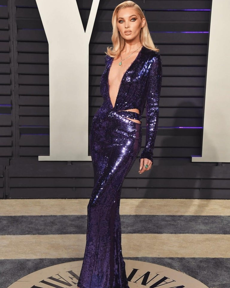 Women's Tom Ford for Gucci purple sequin gown, 2004  For Sale