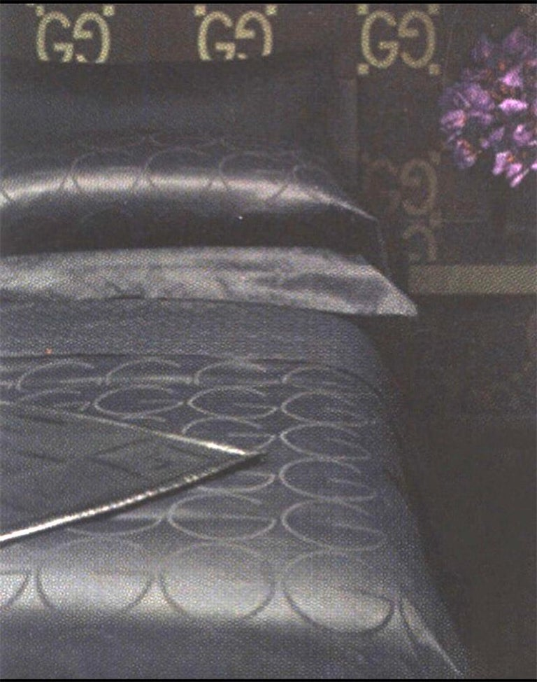 You will not be able to find another set like this because Gucci has discontinued bedding production when Tom Ford left the company.  THIS BEDDING WAS FEATURED IN TOM FORD'S BOOK and IT'S A LAST SET!   To those who require nothing less than