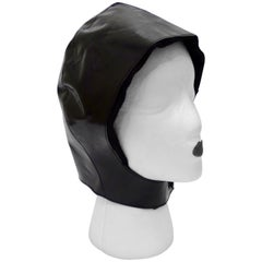 Tom Ford for Yves Saint Laurent Black Leather Flight Cap