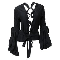 Tom Ford for Yves Saint Laurent Lace up Blouse F/W 2002
