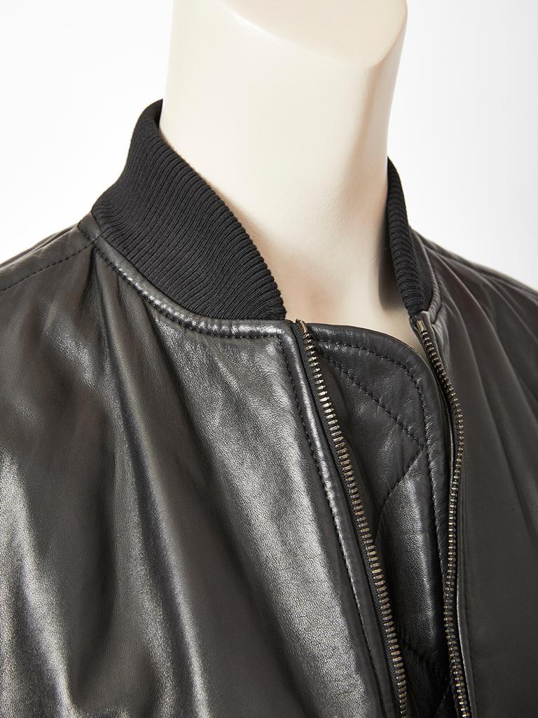 32c272c2f12 Women's Tom Ford for Yves Saint Laurent Leather Bomber Jacket For Sale