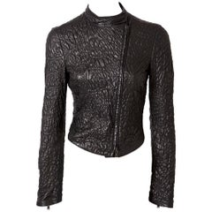 Tom Ford for Yves Saint Laurent Quilted Leather Racer Jacket