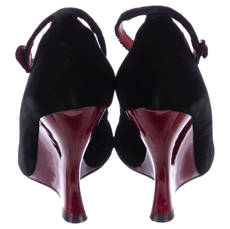 Tom Ford for Yves Saint Laurent YSL Final Collection Museum Heels Sz 38.5 For Sale 10