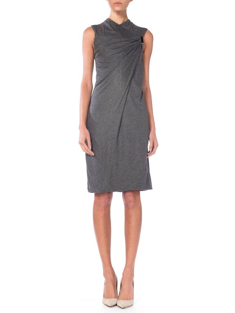 Gray Tom Ford Gucci Minimalist Dress For Sale
