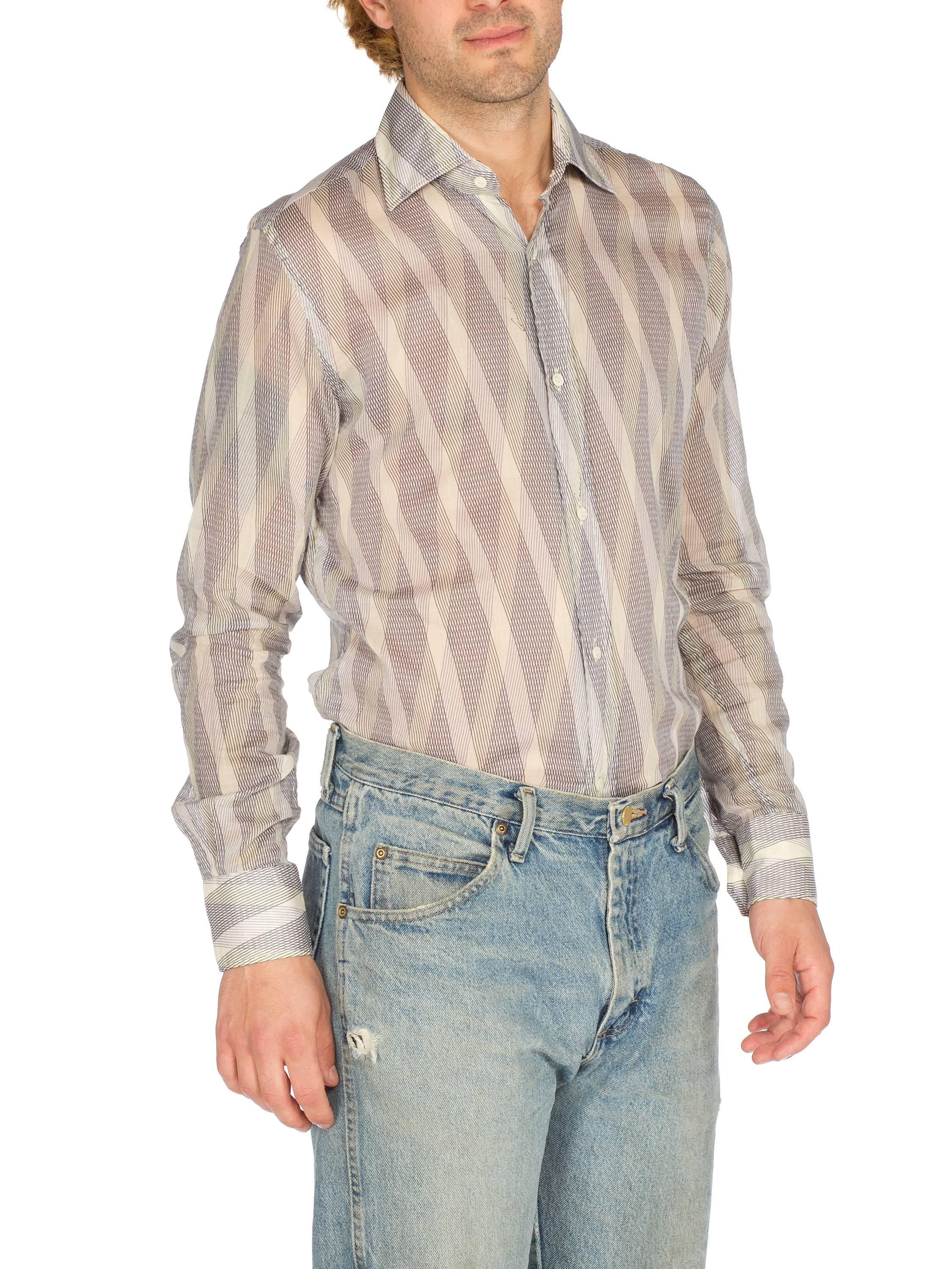 Tom Ford Gucci Sheer Cotton Mens Shirt For Sale At 1stdibs