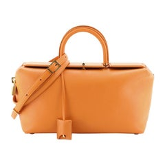 Tom Ford India Tote Leather Medium, crafted in orange leather