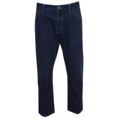 Tom Ford Indigo Dark Wash Denim Straight Fit Jeans XXL