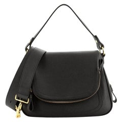 Tom Ford Jennifer Double Strap Bag Leather Medium