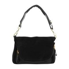 Tom Ford  Jennifer Shoulder Bag Suede with Leather Large