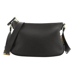 Tom Ford Jennifer Zip Messenger Leather Small
