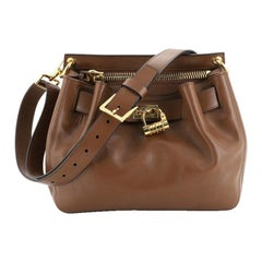 Tom Ford Lock Front Crossbody Bag Leather Small