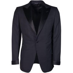 Tom Ford Men's Black Wool Blend Shelton Two Piece Suit