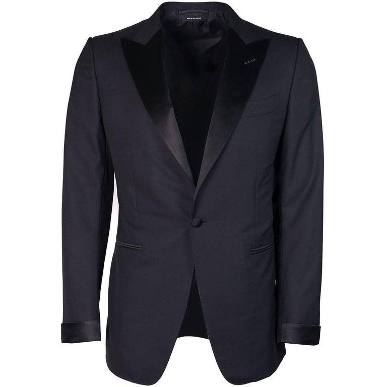 Tom Ford Men's Black Wool Blend Shelton Two Piece Suit