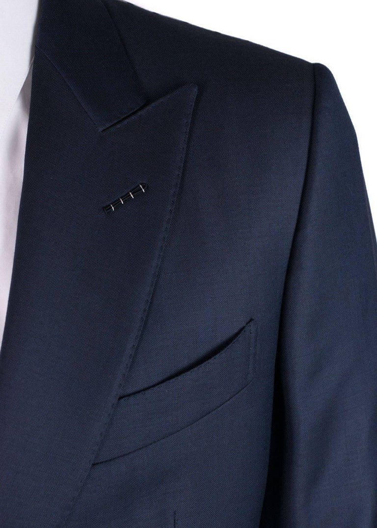 Tom Ford Men S Navy Wool Y Fit O Connor Textured 2 Piece Suit At 1stdibs