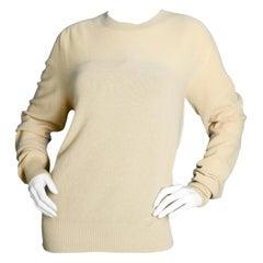 Tom Ford Men's NWT Beige Cashmere Sweater sz IT52/ US42/ L