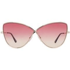 Tom Ford Mint Women Gold Sunglasses FT0569 6528T 65-5-147 mm