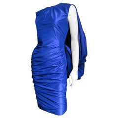 Tom Ford New Drape Back Ruched Dress