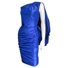 Tom Ford New Drape Back Ruched Dress