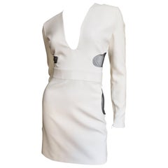 Tom Ford New Plunge Dress with Cut outs