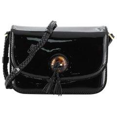 Tom Ford Resin Tassel Flap Bag Patent Medium