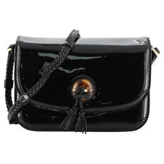 Tom Ford Resin Tassel Flap Bag Patent Medium