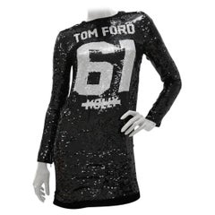 Tom Ford Runway MOLLY 61 Sequin Embellished Mini Dress