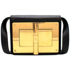 Tom Ford Small Black Natalia Crossbody Bag