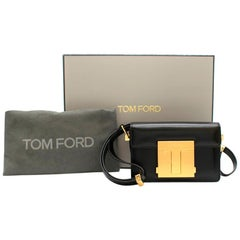 Tom Ford Small T Clasp Shoulder Bag 17cm
