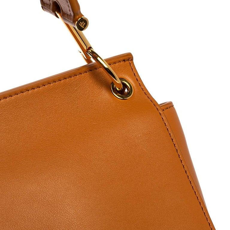 Tom Ford Tan Leather Natalia Shoulder Bag For Sale 2