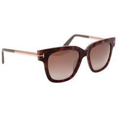 Tom Ford Tortoiseshell Brown Sunglasses