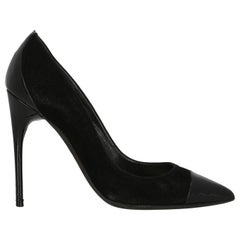 Tom Ford  Women   Pumps  Black Leather EU 38.5