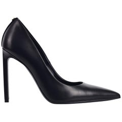Tom Ford Womens Black Classic Leather Pumps