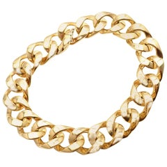 Tom Ford Yellow Gold Link Bracelet
